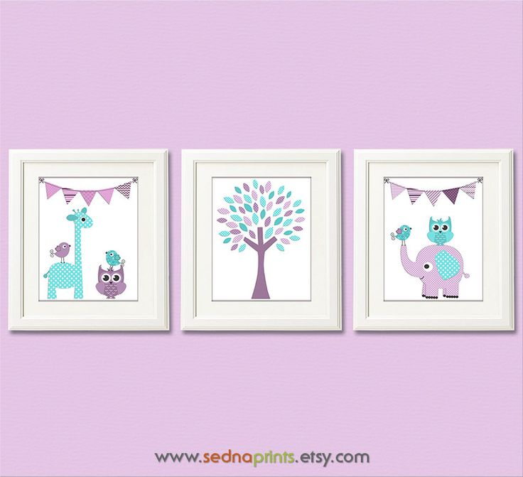https://www.etsy.com/listing/177861361/purple-aqua-and-teal-baby-girl-nursery?ref=related-2