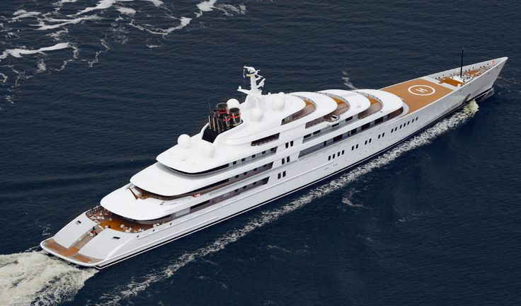 French Yachts releases the definitive list of the biggest super yachts in the world and Azzam is the winner taking the coveted title from Roman Abramovic's Eclipse. #bestofyachting