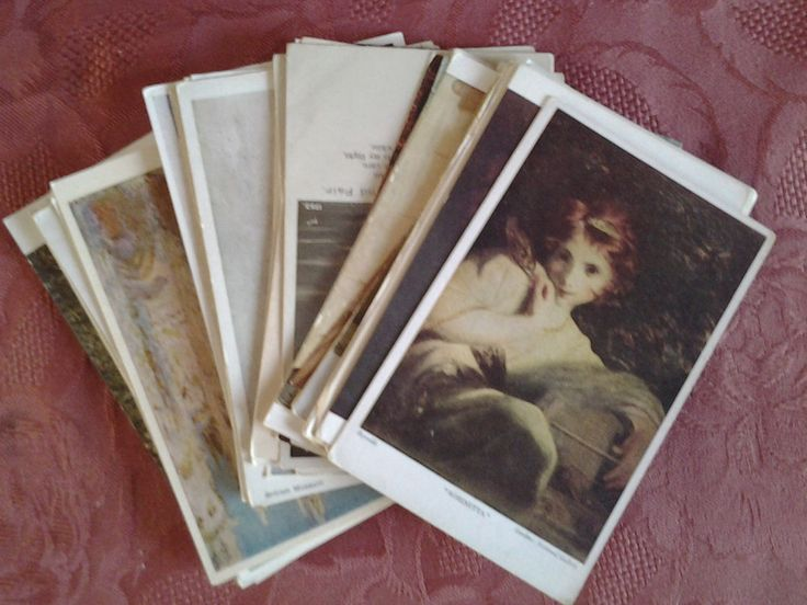 35 Old Postcards ~ Artist Drawn ~ from 1900 s Onwards ~ Various Scenes