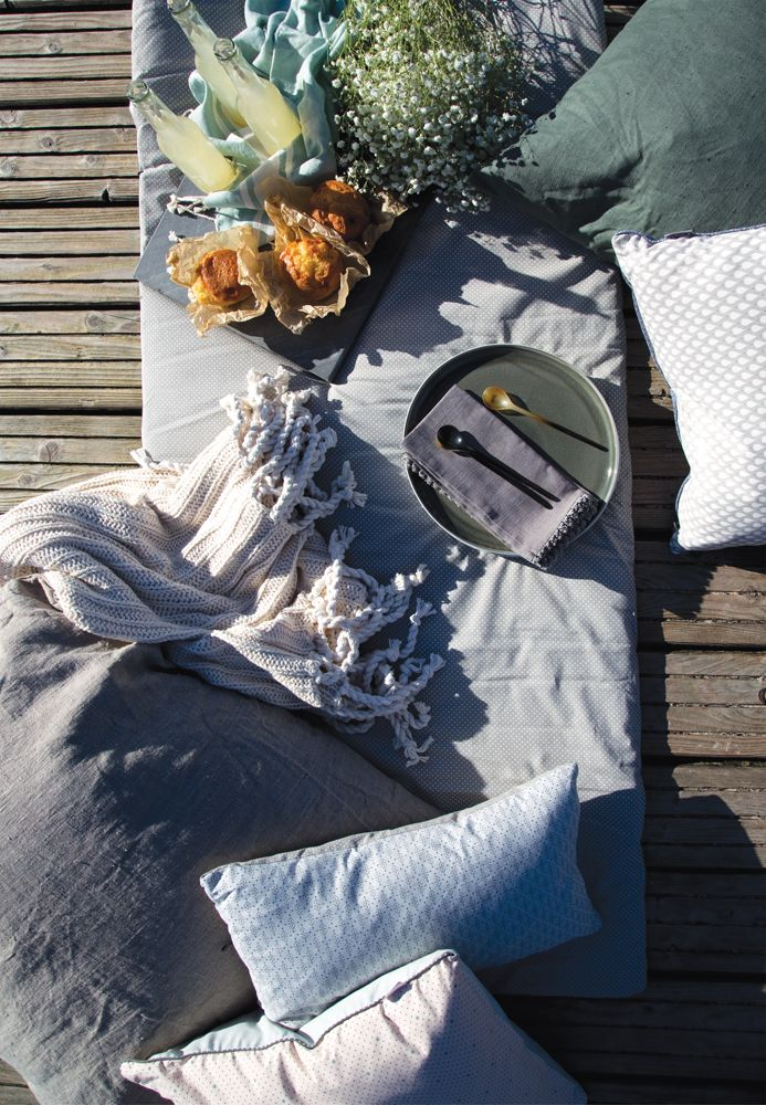 A.U Maison SS17. #aumaison #interior #homedecor #styling #danishdesign #outdoor #picnic #linen