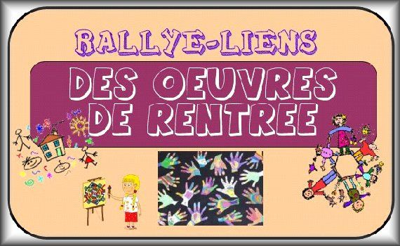 RALLYE LIENS: des oeuvres de rentrée - Chez Maliluno