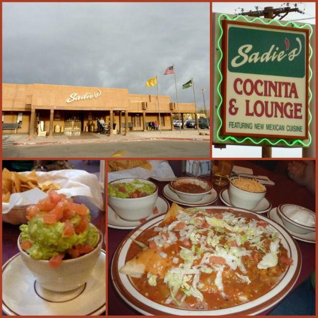 Sadies Restaurant. When you gotta have great New Mexican  food. :)