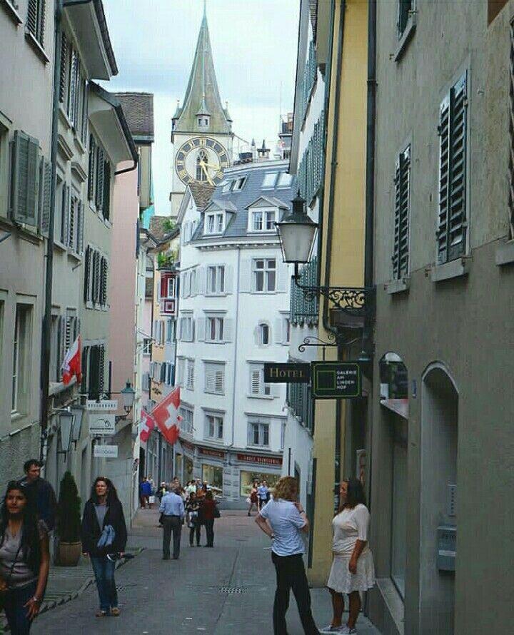 @Zürich city centre  Katedralnya swiss