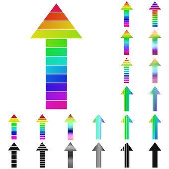 Arrow, Arrow Logo, Growth, Success