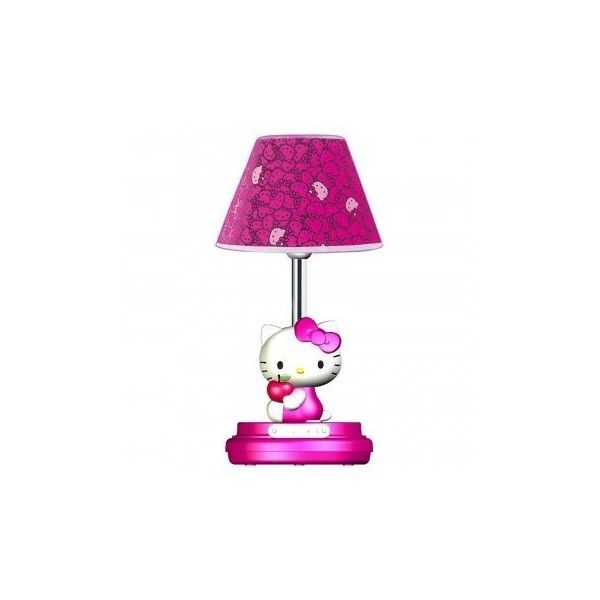 Hello Kitty Table Lamp- Magenta by Hello Kitty: Amazon.ca: Home &... ($106) ❤ liked on Polyvore featuring home, lighting, table lamps, hello kitty table lamp, hello kitty lamp, hello kitty and hello kitty lights
