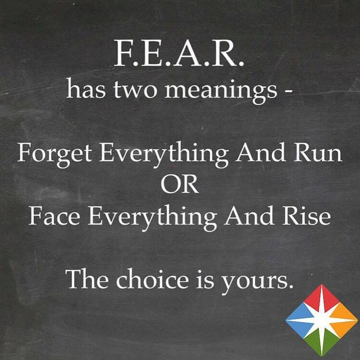 What does FEAR mean to you? #sunday #sundaymorning