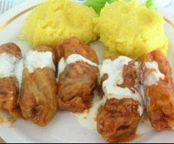 Sarmale - rumänische Sauerkraut Rouladen