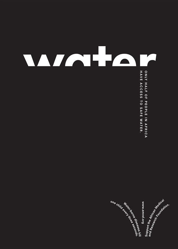 Best 25+ Water poster ideas on Pinterest   Typographic design, For ...
