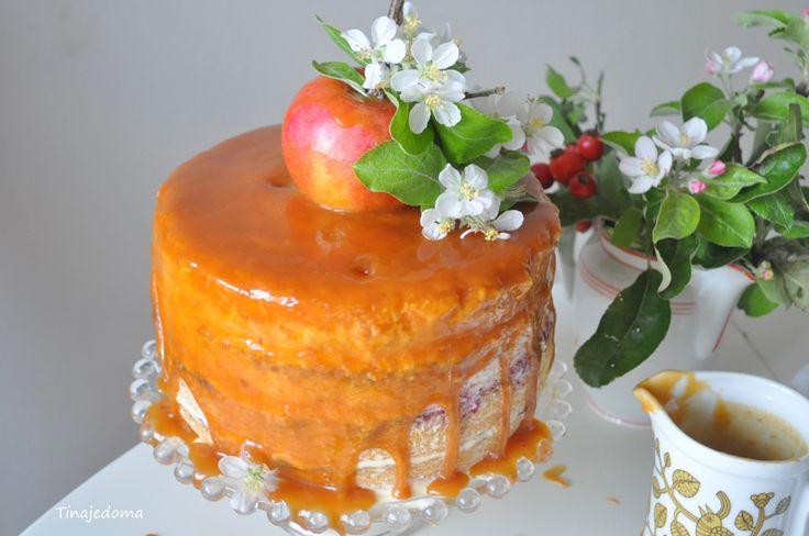 karamelová torta
