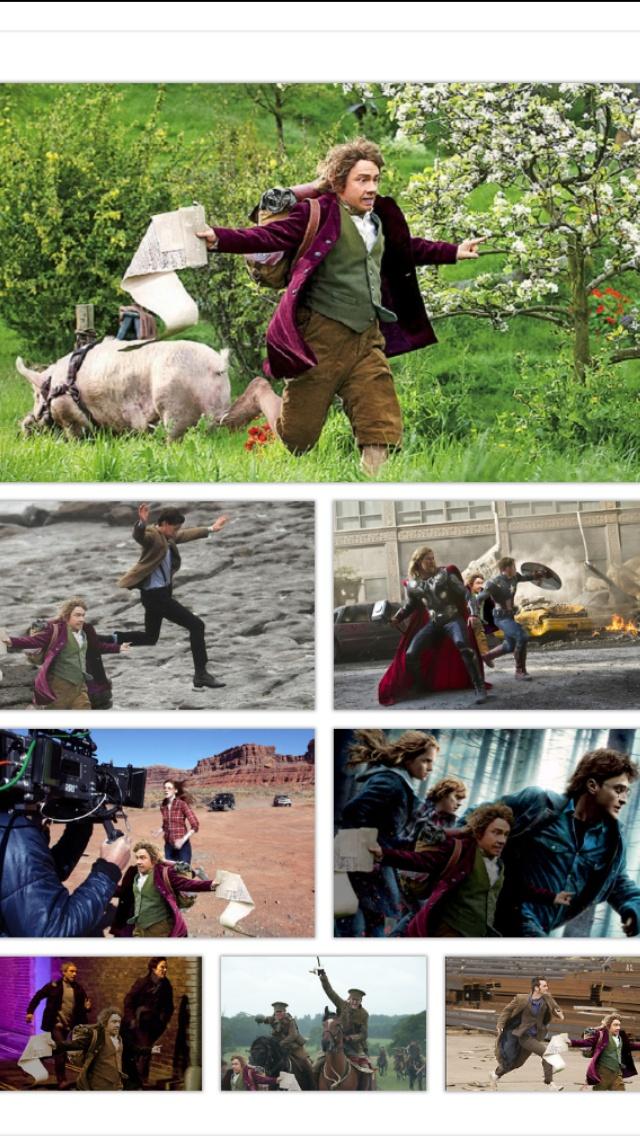 Bilbo Baggins In Places He Shouldn't Be Meme