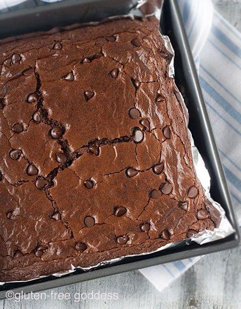 Dark Chocolate Brownies- The Best Gluten-Free Recipe | Gluten-Free Goddess® | Bloglovin'