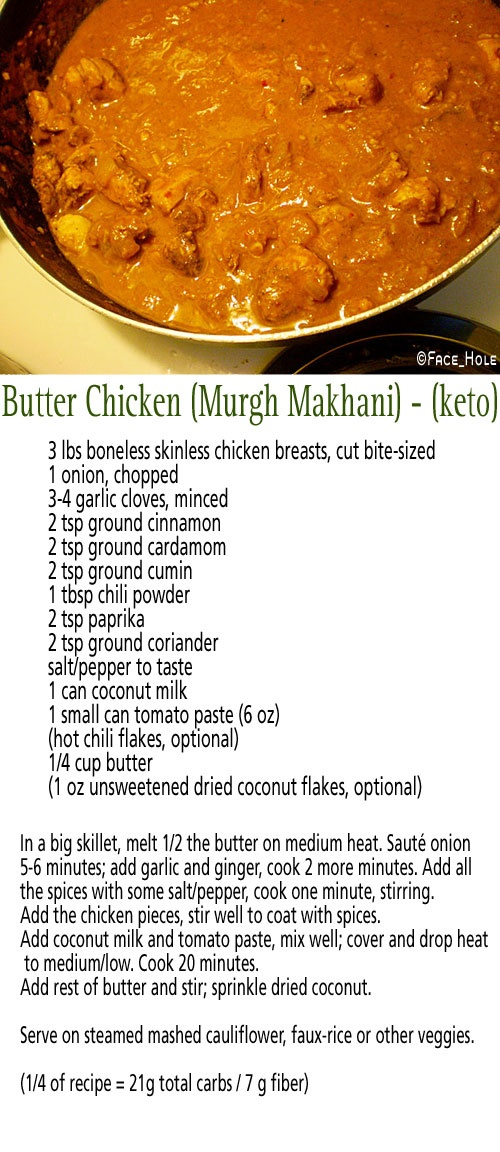 Butter chicken - maybe i can try in crockpot?