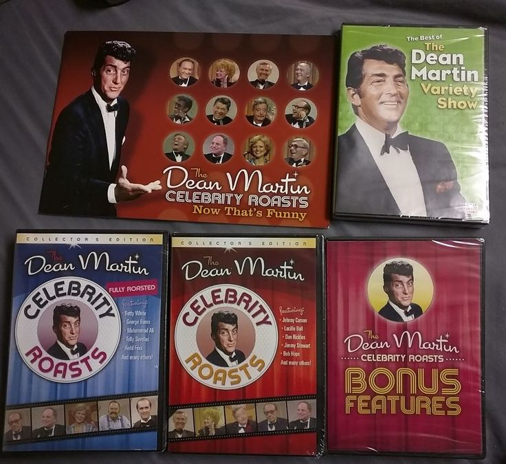 Dean Martin Roasts DVD | eBay