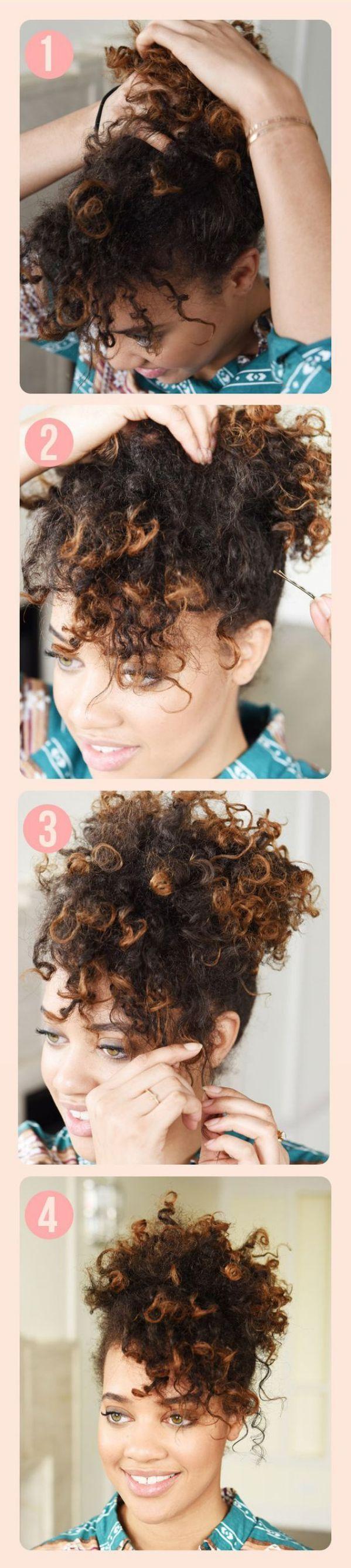 Peinados Pelo Corto Y Rizado Cortes De Pelo Rizado Corto Para