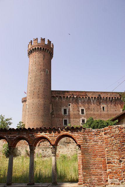 Ivrea castle by All Stood Still, via Flickr , Torino , province of Torino , Piemonte region Italy