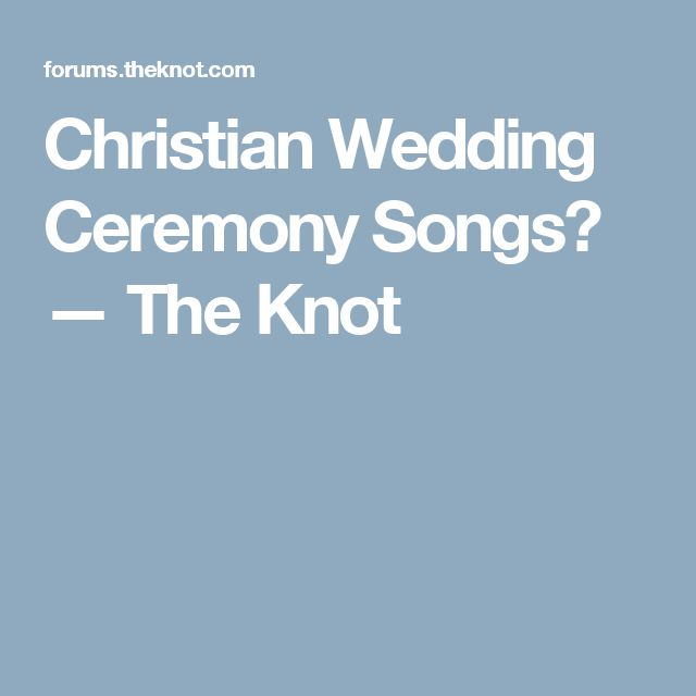 The 25+ best Christian wedding songs ideas on Pinterest ...