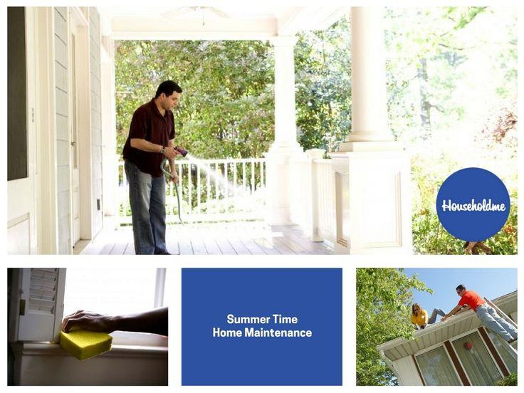 Summer Time Home Maintenance  #maintenance #summer #summertime #summerclenaing #clean #cleaning