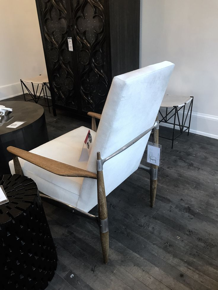 Beautiful This Beautifully Upholstered Hide Lounge Chair From Oly Studio Blends Hard  And Soft Beautifully With A Ideas