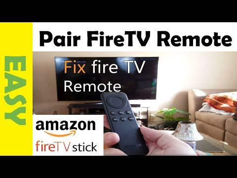 How to Fix Amazon Fire TV Stick Remote That's Not Working