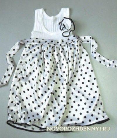 шьем платье для девочки выкройка