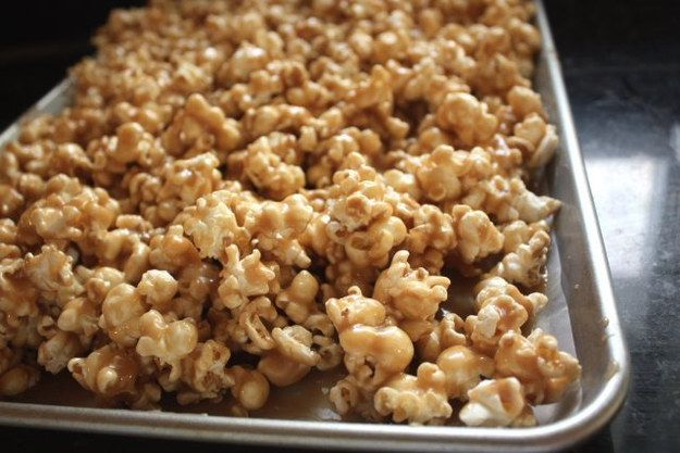 Caramel Corn | 13 Indulgent Snacks To Make For The Holidays