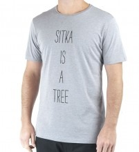 The Siat tee is a classic fit graphic tee. In the Sitka custom tri-blend fabric, these tees are some of the softest and most comfortable on the market. Available in two colours, Heather Grey and Heather Forest.