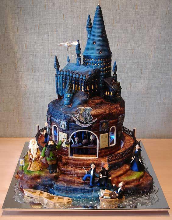 262 best Cakes Harry Potter images on Pinterest Harry potter