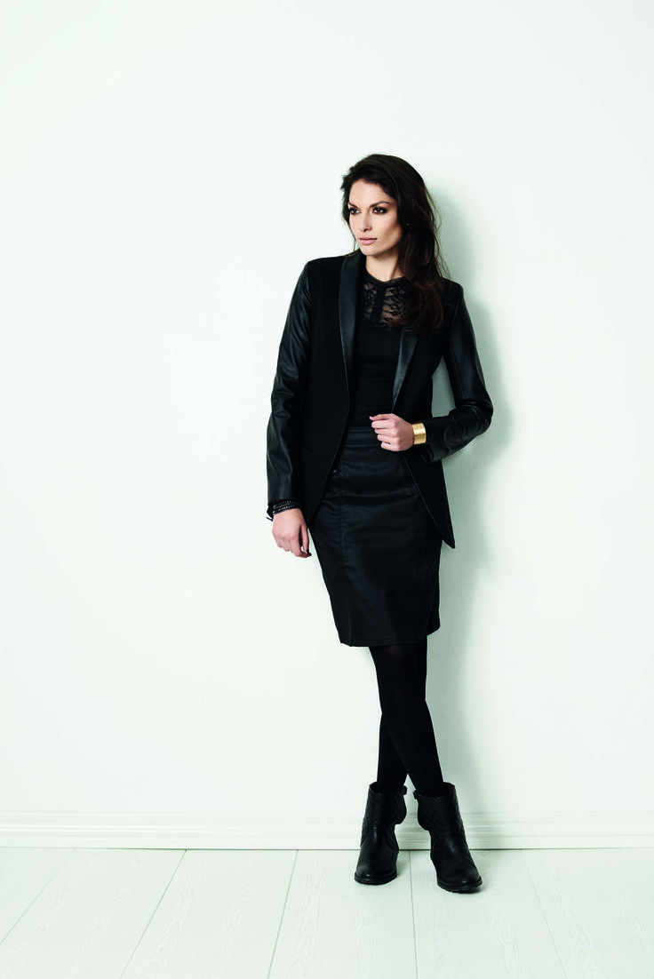 soyaconcept - jacket - blazer - blouse - lace - skirt - top