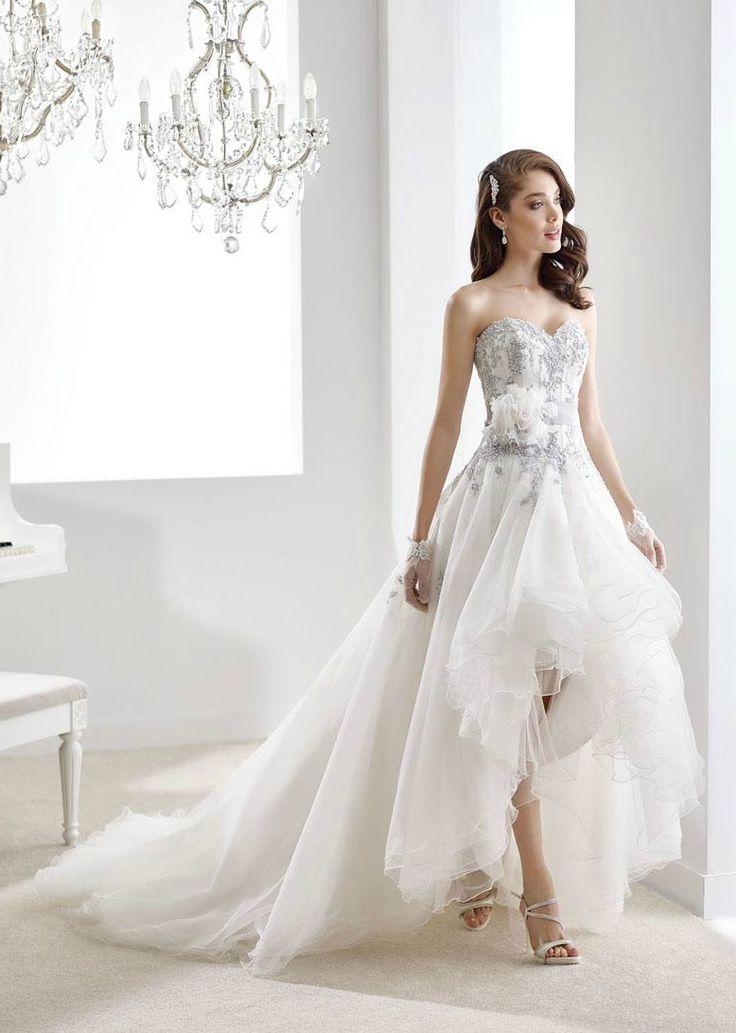 25 niet traditionele trouwjurken met kleur | In White