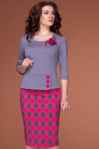 Костюм стильный с дизайном - заказать и купить с доставкой в интернет-магазине «L'MARKA»