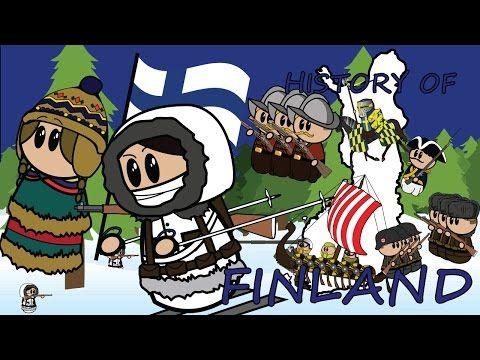 Suomen historia animoituna - YouTube