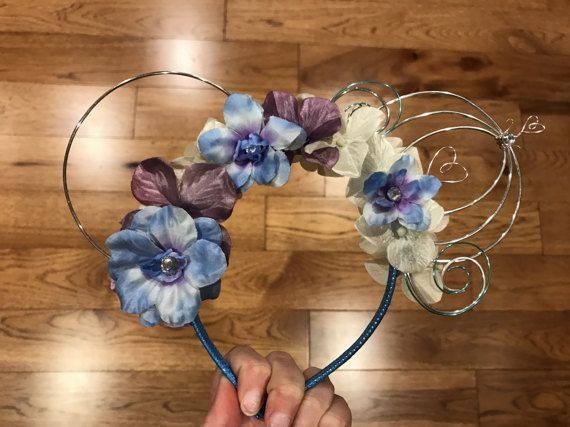 Cinderella Carriage Inspired Ears by GoldenFlowerCo on Etsy
