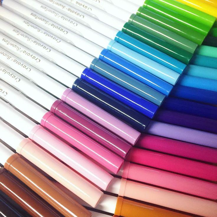 "Páči sa mi to: 19, komentáre: 1 – Dominika Imrichová (@ms_domca) na Instagrame: ""Who loves new stationery?  #crayola #crayolasupertips  #journal #journaling #journaladdict…"""