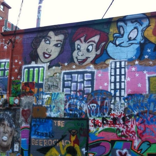 cool graffiti! | Disney graffiti
