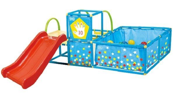 Kids Play Set Activity Gym Center Playground Toddler Toys Ball Pit Active Play