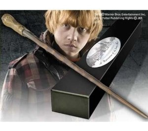 amazoncom noble collection harry potter rplique baguette de ron weasley dition