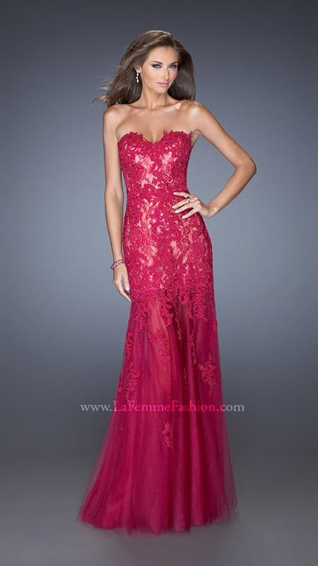 La Femme 20425 | La Femme Fashion 2014 - La Femme Prom Dresses - Dancing with the Stars