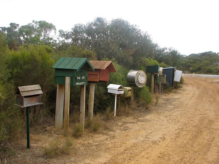 The post office at Kangaroo Island, Australia