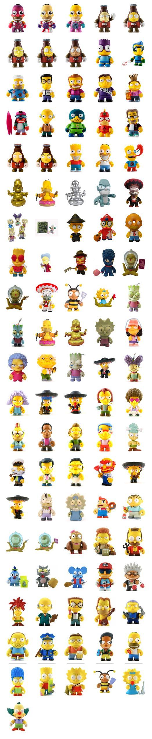 Kidrobot Simpsons