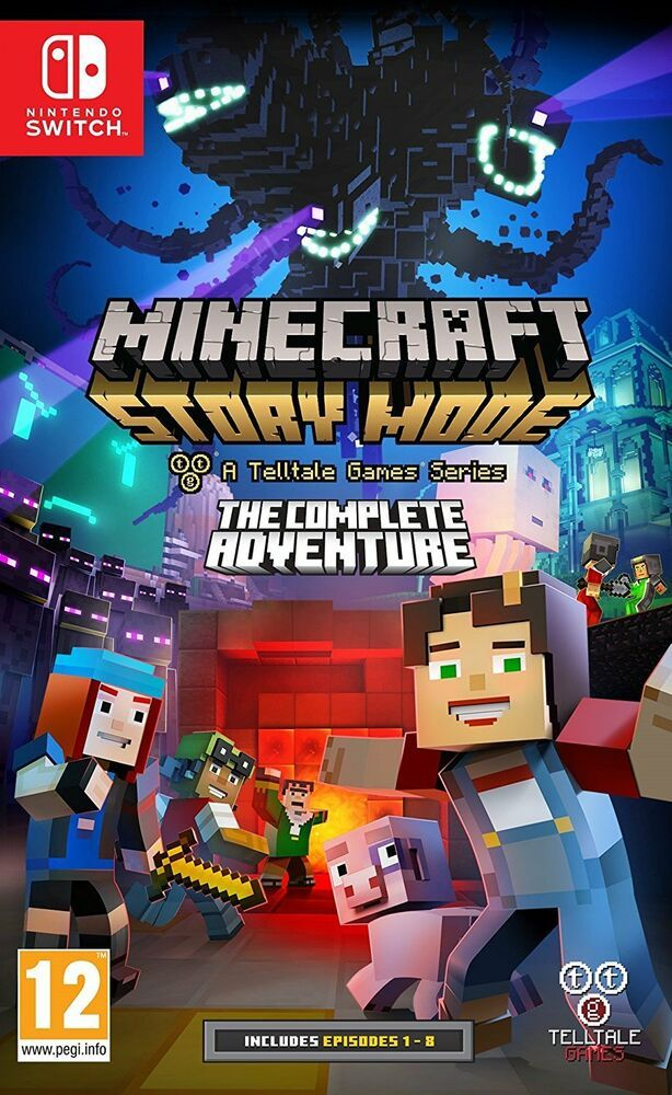 60b227aac25f9 Minecraft Story Mode  The Complete Adventure (Nintendo Switch) BRAND NEW   minecraft  playing  game