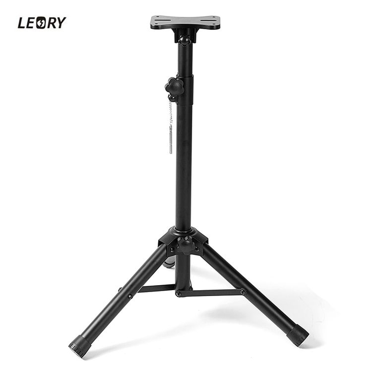 >> Click to Buy << LEORY Universal 50kg Loading Folding Projector Stand Tripod with metal stand & Tray Speaker Holder Stand Tripod Holder #Affiliate