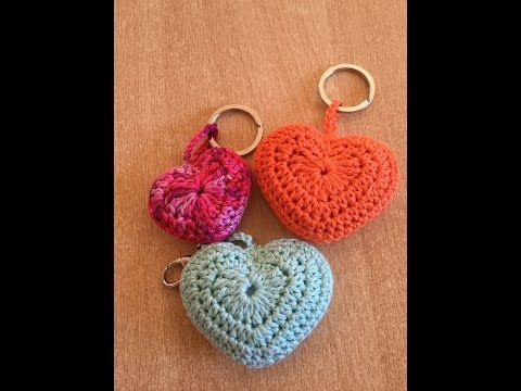 Tuto coeur au crochet, My Crafts and DIY Projects