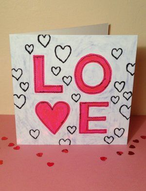 Card Love The Love Letters Pinterest Craft And Cards