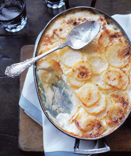 Rich with cream, potato gratin is a special-occasion recipe in all meanings of the phrase.