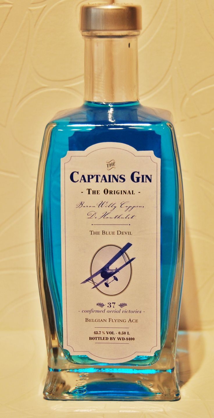 Mile high scenes just role off the finger tips with Captain's Gin.