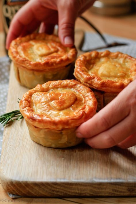 Beef, caramalised onion and stout pie | Rhodes Quality More