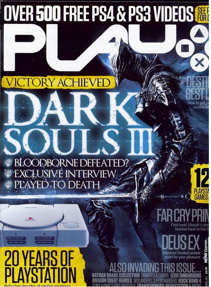 DARK SOULS III PLAY Magazine Cover