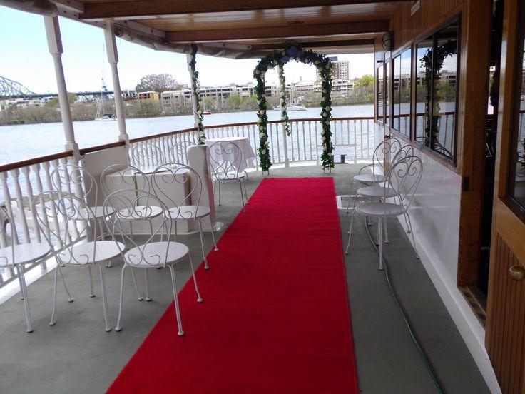 Kookaburra River Queens Weddings Brisbane Celebrant Neal Foster The Marriage Celebrant performs weddings here.