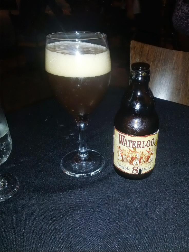 2013/06/08 - Waterloo Double 8 Dark - Belgian Dark Strong Ale 8.5%ABV