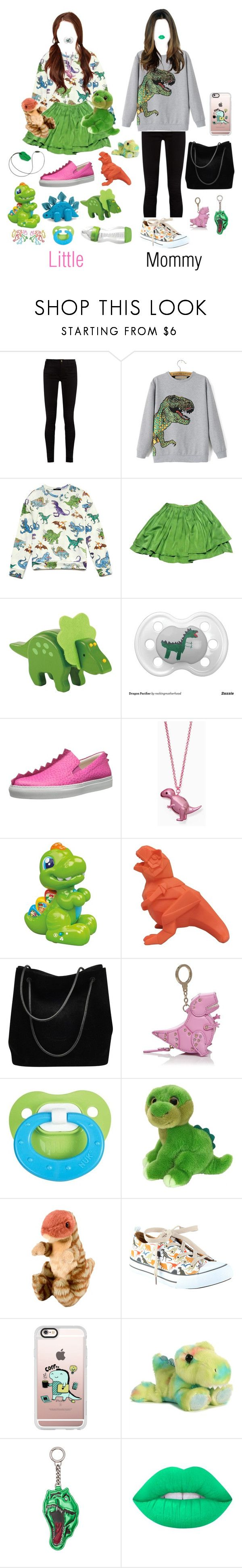 """Dino Mommy And Dino Little!"" by be-robinson ❤ liked on Polyvore featuring Gucci, Forever 21, Peter Jensen, Dinosaurs, Boutique Moschino, Kate Spade, Disaster Designs, Itsy Bitsy, Casetify and Yves Saint Laurent"